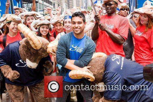 Wilmer Valderrama  Stride kick off the new...