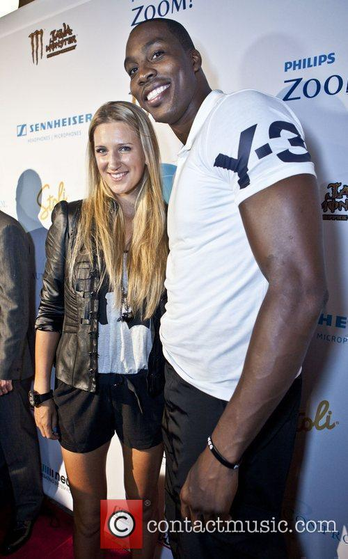 Victoria Azarenka And Dwight Howard and Metropolitan Pavillion 1