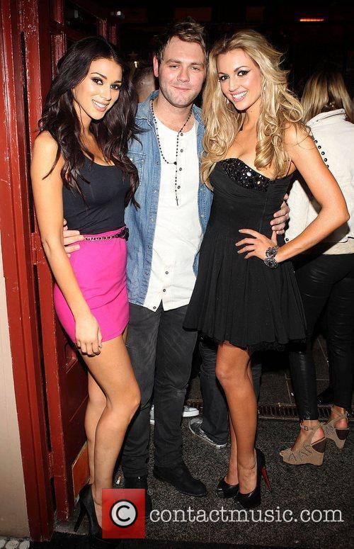 Brian McFadden, Georgia Salpa and Rosanna Celebrities at...
