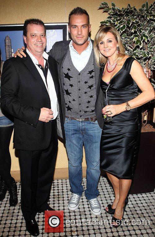 Paul Hayden, Calum Best and Soshanna Hayden Celebrities...