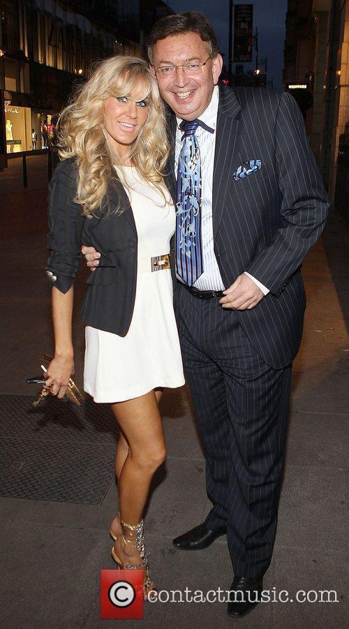 Lisa Murphy and Gerald Keane Celebrities at Harry's...