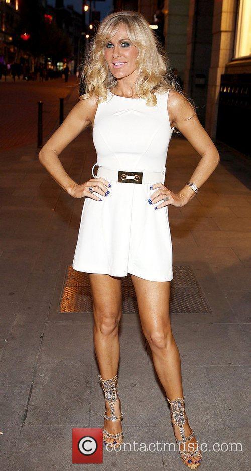 Lisa Murphy Celebrities at Harry's American Style Bar...