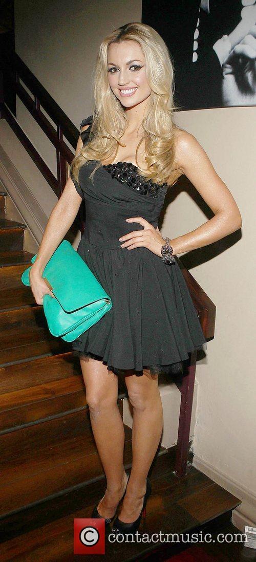 Rosanna Davison  Celebrities at Harry's American Style...