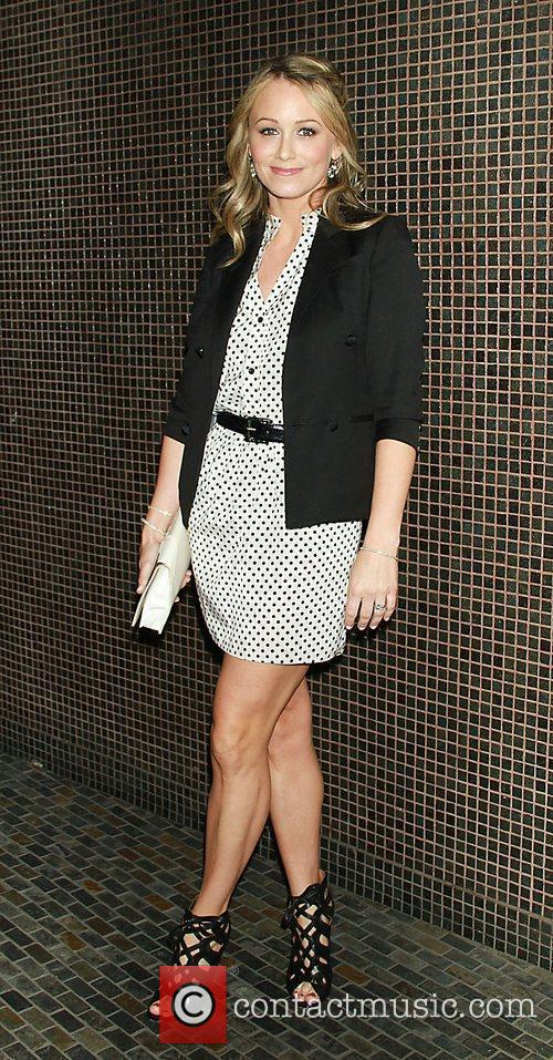 Christine Taylor at The Weinstein Company with The...