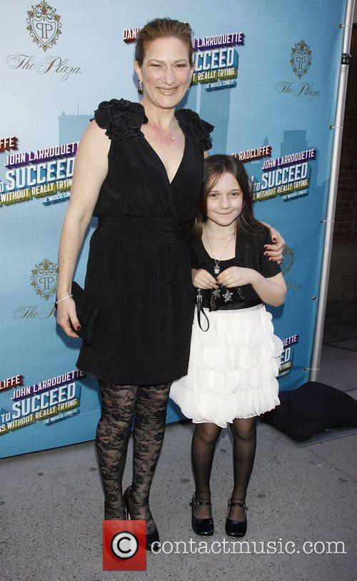 Ana Gasteyer and her daughter Frances Mary McKittrick...