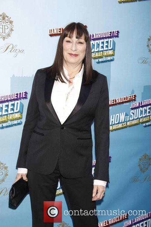 Anjelica Houston Opening Night of the Broadway musical...