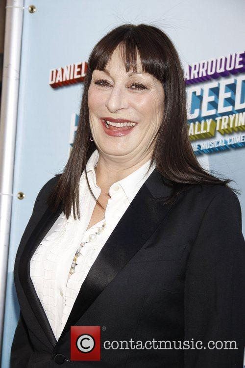 Anjelica Huston Opening Night of the Broadway musical...
