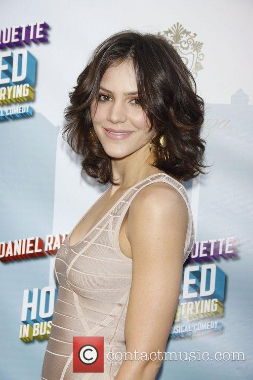 Katharine McPhee Opening Night of the Broadway musical...