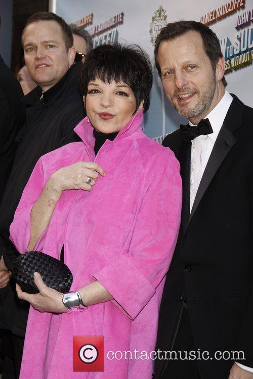 Liza Minnelli and Rob Ashford Opening Night of...