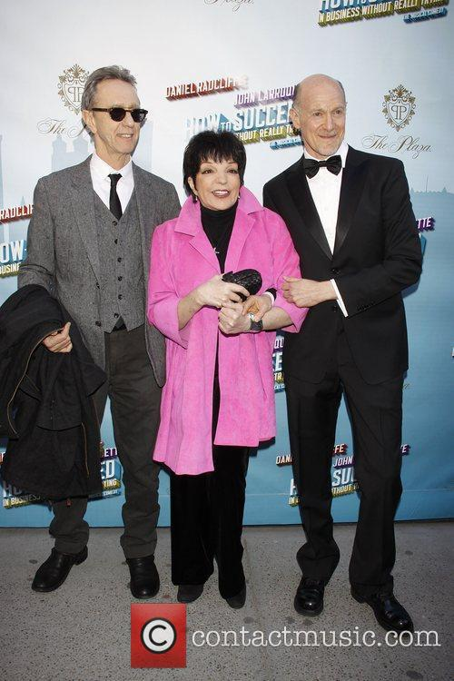 Liza Minnelli and Neil Meron Opening Night of...