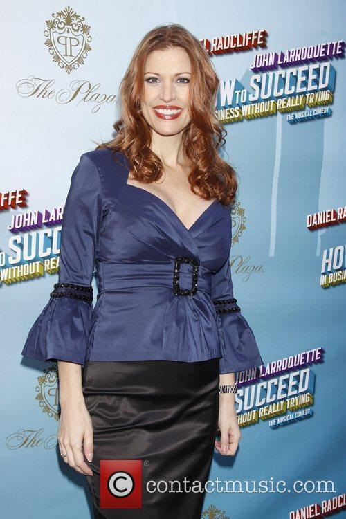 Rachel York Opening Night of the Broadway musical...