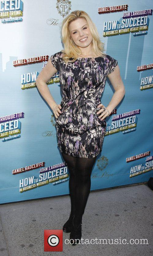 Megan Hilty Opening Night of the Broadway musical...