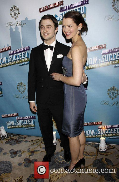 Daniel Radcliffe and Rose Hemingway Opening Night after...
