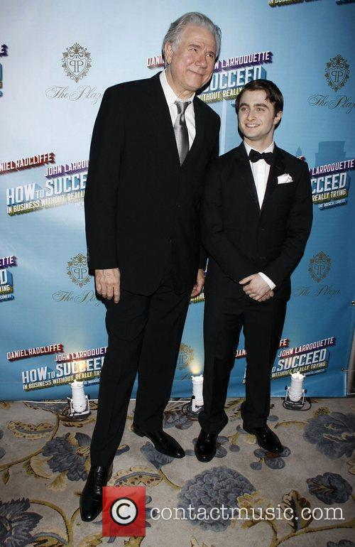 John Larroquette and Daniel Radcliffe Opening Night after...
