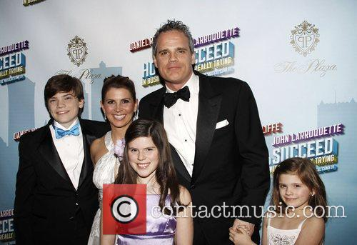 Michael Park and family Opening Night after party...