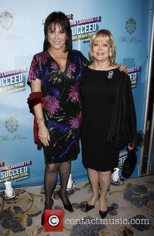 Michele Lee and Candy Spelling Opening Night after...