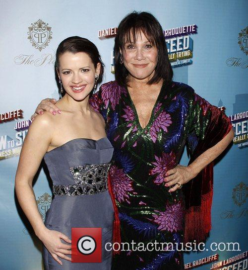 Rose Hemingway and Michele Lee Opening Night after...