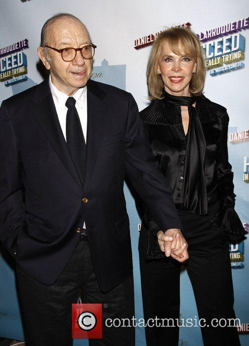 Neil Simon and Elaine Joyce-Simon Opening Night after...