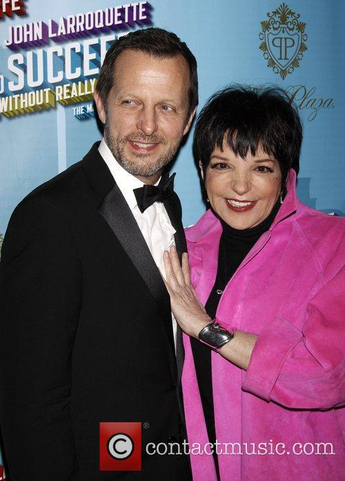 Rob Ashford and Liza Minnelli Opening Night after...