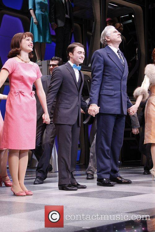 Rose Hemingway, Daniel Radcliffe, John Larroquette and cast...