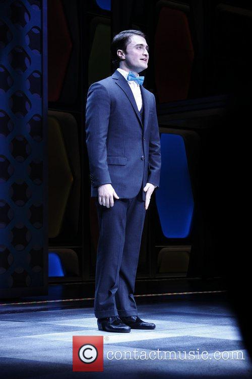 Daniel Radcliffe Opening Night of the Broadway musical...