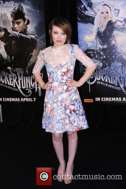 Emily Browning The premiere of 'Sucker Punch' at...