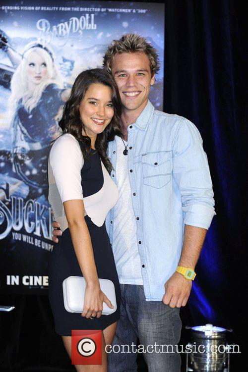 Lincoln Lewis and Rhiannon Fish The premiere of...