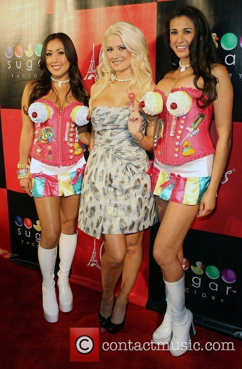 Holly Madison ad Guests Grand Opening of The...