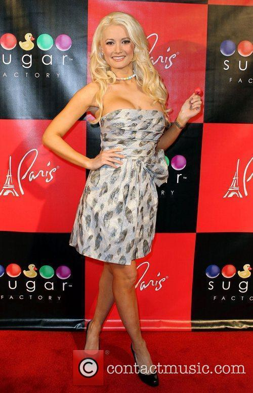 Holly Madison Grand Opening of The Sugar Factory...