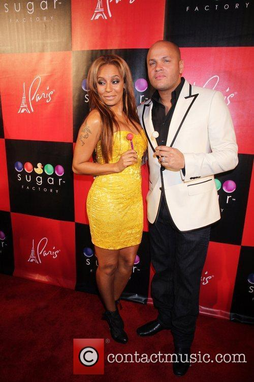Melanie Brown aka Mel B and Stephen Belafonte...