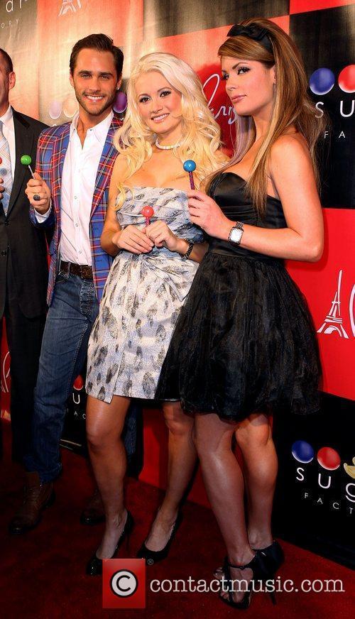 Josh Strickland, Holly Madison, Laura Croft Grand Opening...