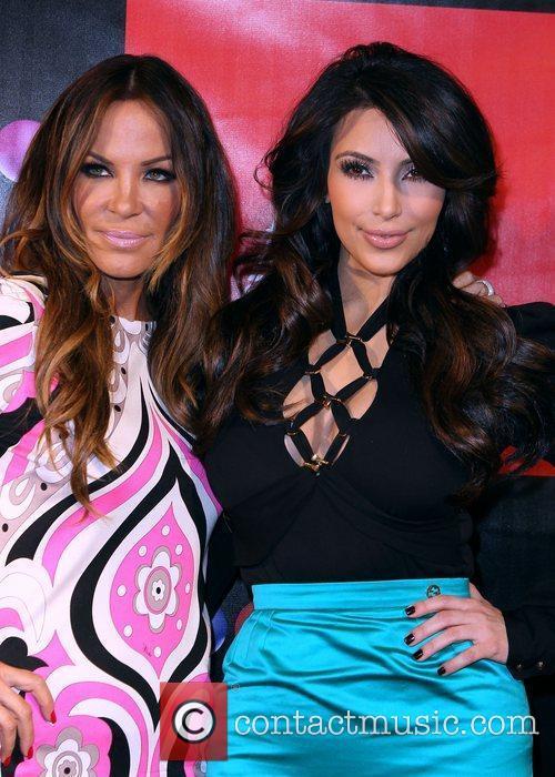 Robin Antin and Kim Kardashian Grand Opening of...