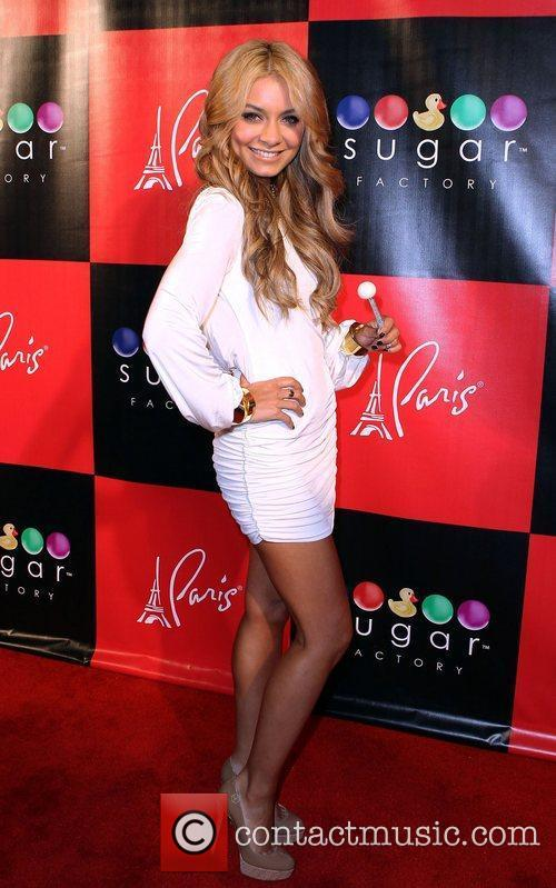 Havanna Brown Grand Opening of The Sugar Factory...