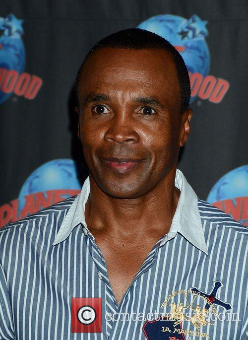 Sugar Ray Leonard, The Ring, Planet Hollywood and Times Square 9