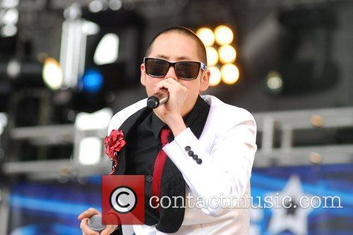Far East Movement perform at B96 Pepsi SummerBash...