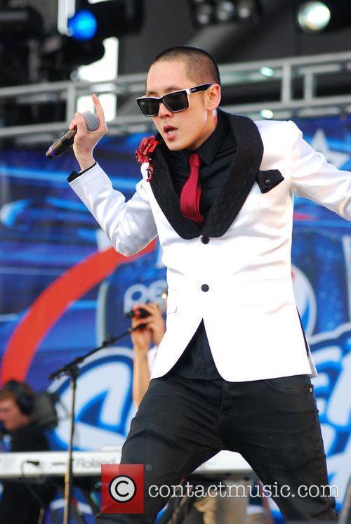 Far East Movement perform at B96 Pepsi SummerBash...