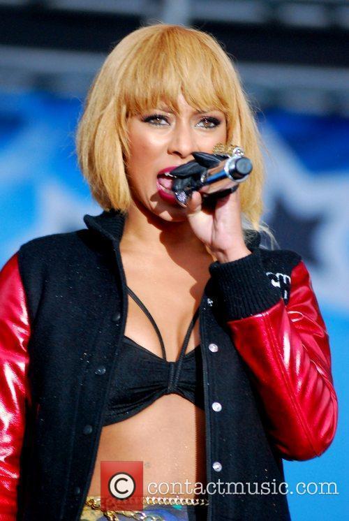 Keri Hilson performs at B96 Pepsi SummerBash 2011...