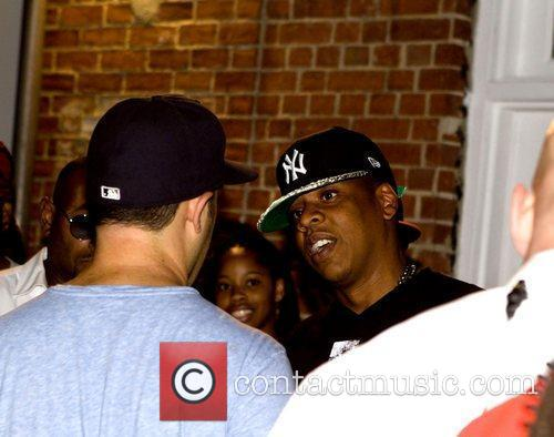 Jay-Z attends concerts at Central Park SummerStage New...
