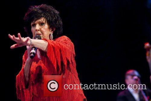 Wanda Jackson performs on stage at the Summerstage...