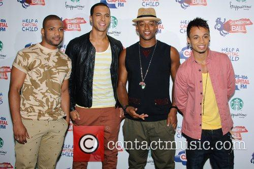 Jonathan Gill, Aston Merrygold, Jls and Wembley Stadium 3