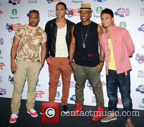 Jonathan Gill, Aston Merrygold, Jls and Wembley Stadium 2