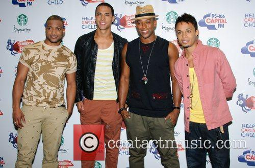 Jonathan Gill, Aston Merrygold, Jls and Wembley Stadium 4