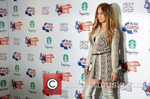 Jennifer Lopez and Wembley Stadium 6