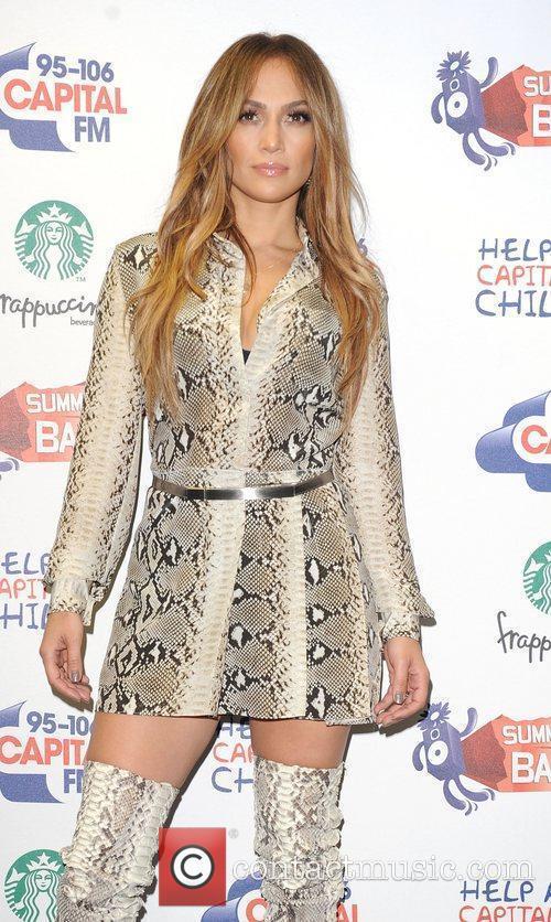 Jennifer Lopez and Wembley Stadium 21