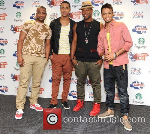 Jonathan Gill, Aston Merrygold, Jls and Wembley Stadium 5