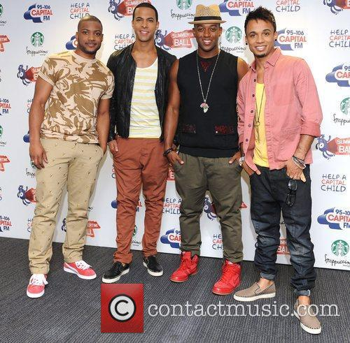 Jonathan Gill, Aston Merrygold, Jls and Wembley Stadium 1