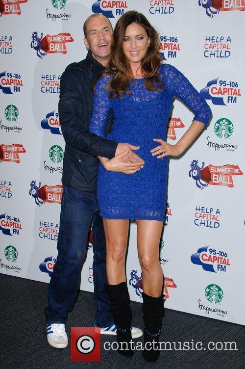 Jonny Vaughan and Lisa Snowdon 95-106 Capital FM...