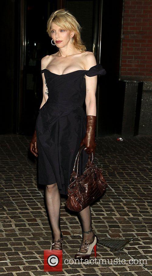 Courtney Love New York Premiere of 'Snow Flower...