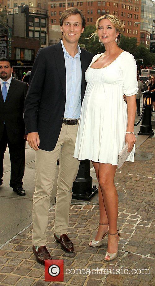 Ivanka Trump and Jared Kushner New York Premiere...
