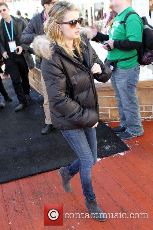 Emma Roberts Celebrities at the 2011 Sundance Film...
